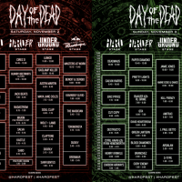 HARD Day of the Dead 2013 Set Times