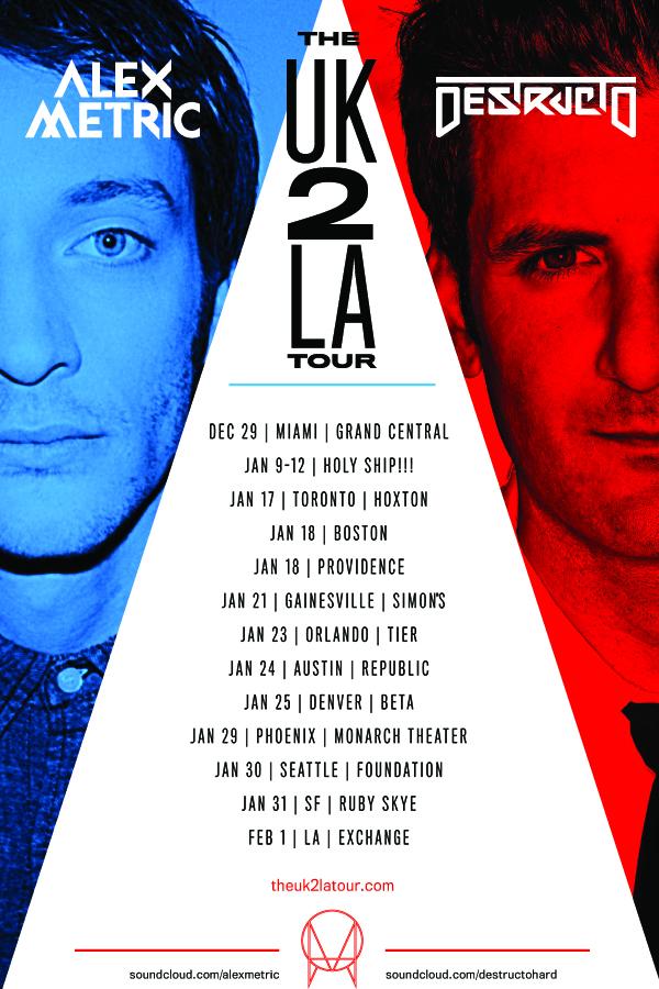 UK 2 LA Tour