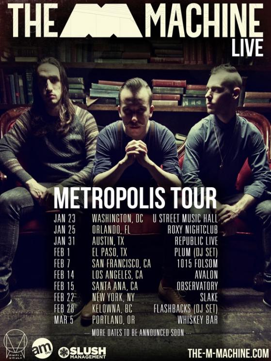 The M Machine Announces Metropolis Tour