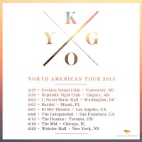 Kygo North American Tour Dates
