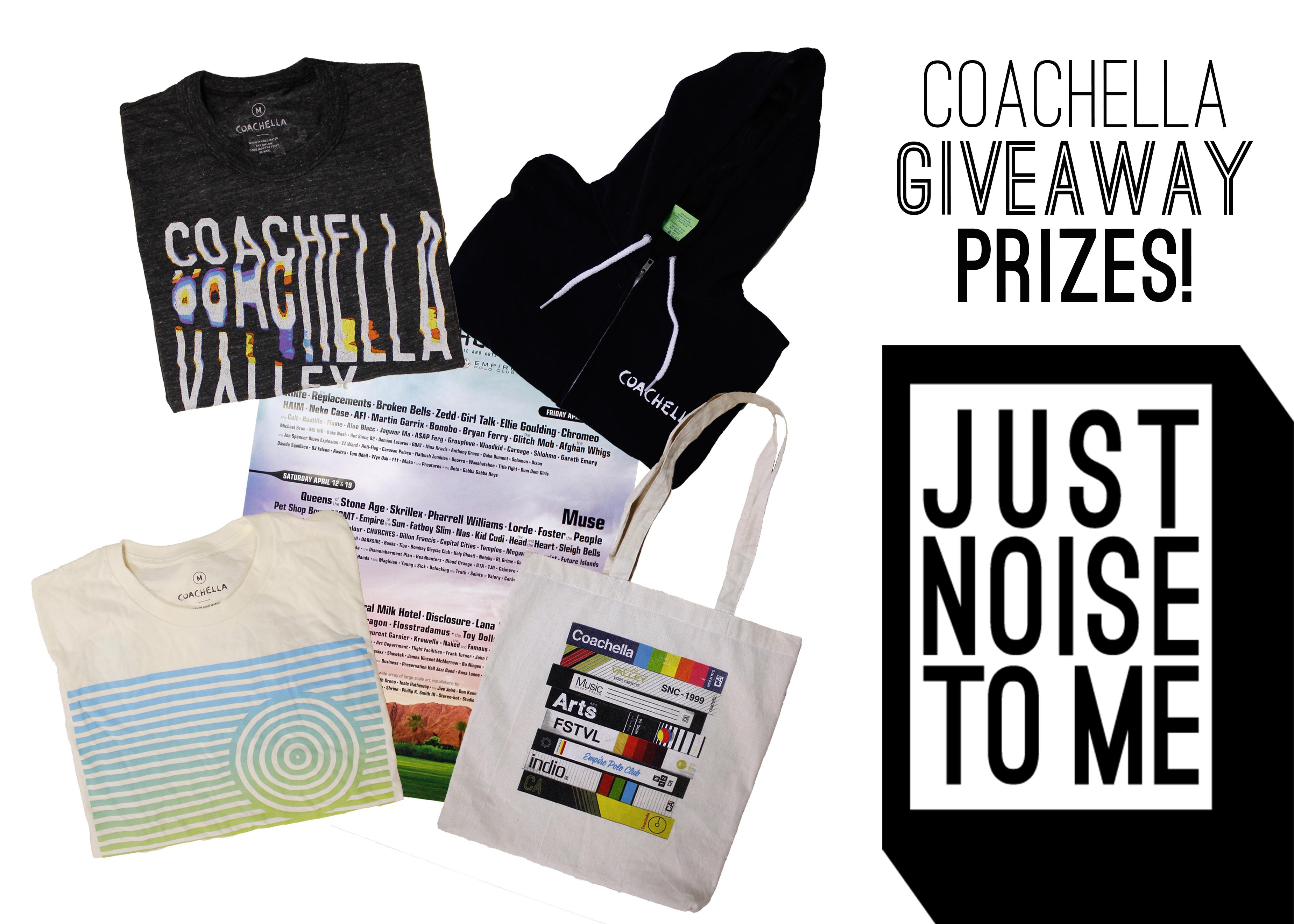 Coachella 2014 Giveaway Prizes
