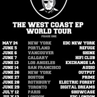 Destructo West Coast EP World Tour