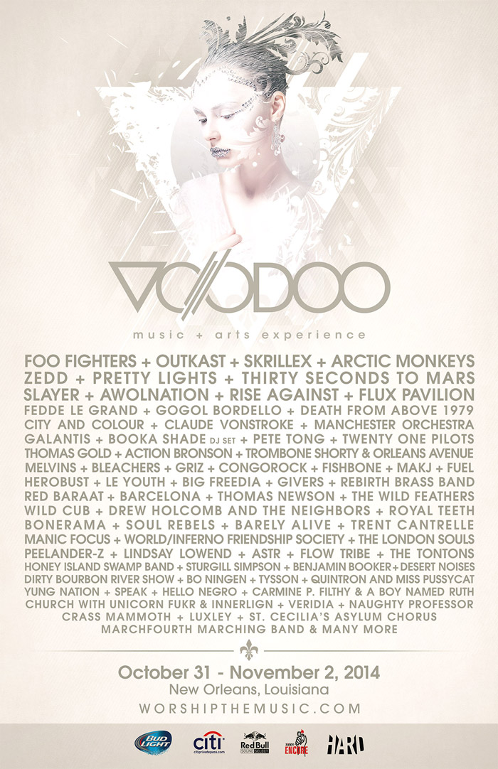 voodoo music festival 2014