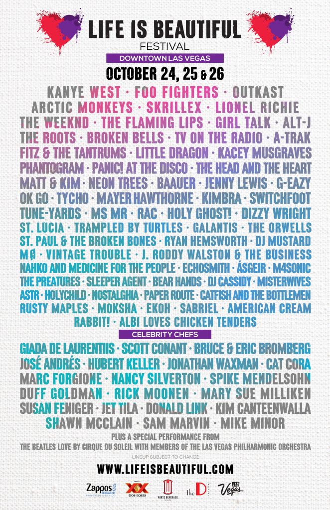 Life is Beautiful Festival Las Vegas