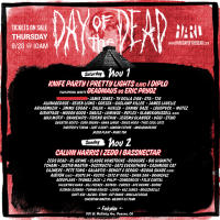 HARD Day of the Dead 2014 lineup